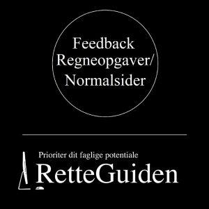 Feedback Retteopgave - Retteguiden.dk